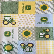 John Deere Tractors in Square Patches