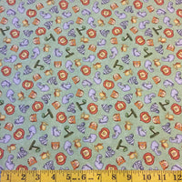 Jungle Buddies Fabric