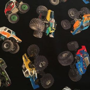 Monster Truck Fabric