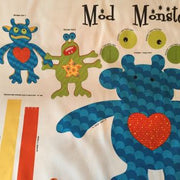 Mod Monsters Stuffed Toy Fabric