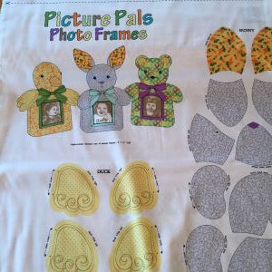 Picture Pals Photo Frames Fabric Pattern
