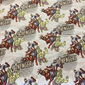 Avengers Fabric Iron Man Captain America Hulk