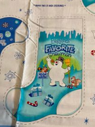 Frosty the Snowman Christmas Stocking