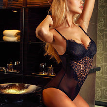 Load image into Gallery viewer, Corset Lace Underwire Racy Bodysuit