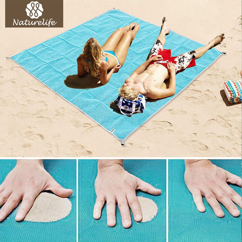Moisture Proof & Sand Free Portable Beach Mat
