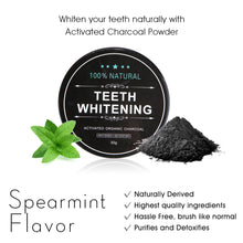 Load image into Gallery viewer, Activated Charcoal Powder for Teeth Whitening
