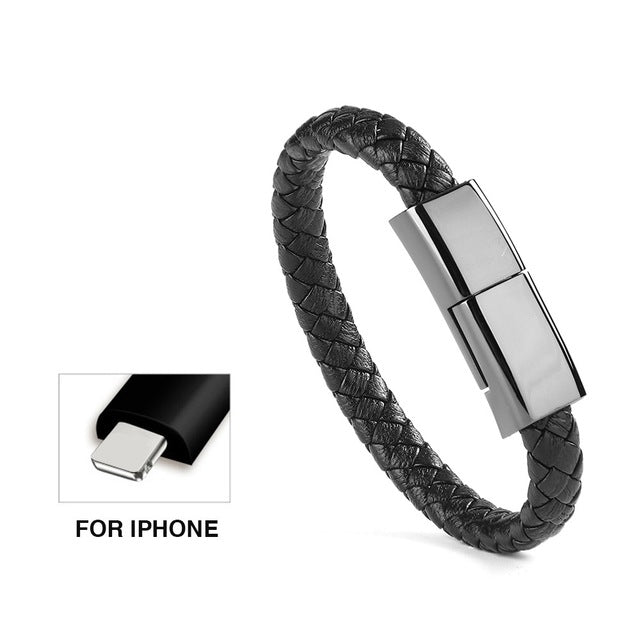 Sports Bracelet USB Charger Cable Data Cable Quick Charge