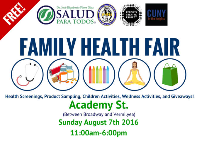 Family Health Fair Event