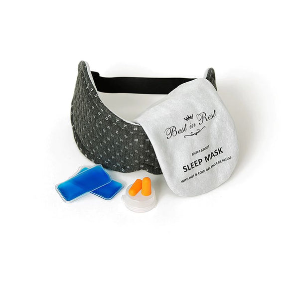 Luxury Memory Foam Anti-Fatigue Eye Mask