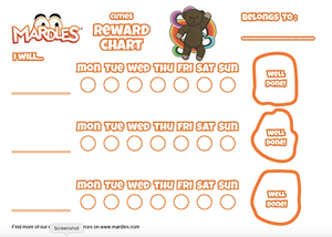 Cuties Reward Chart