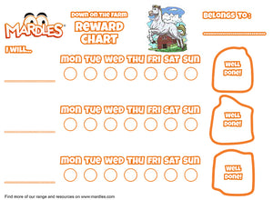 Down on the Farm Reward Chart