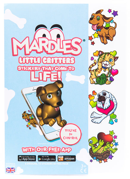 Little Critters Interactive 4D Stickers (pack of 12)