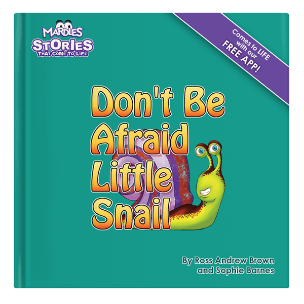 Don't be afraid little snail augmented reality story book