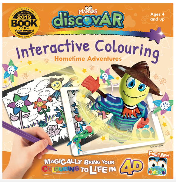 Hometime Adventures 4D Interactive Colouring Book