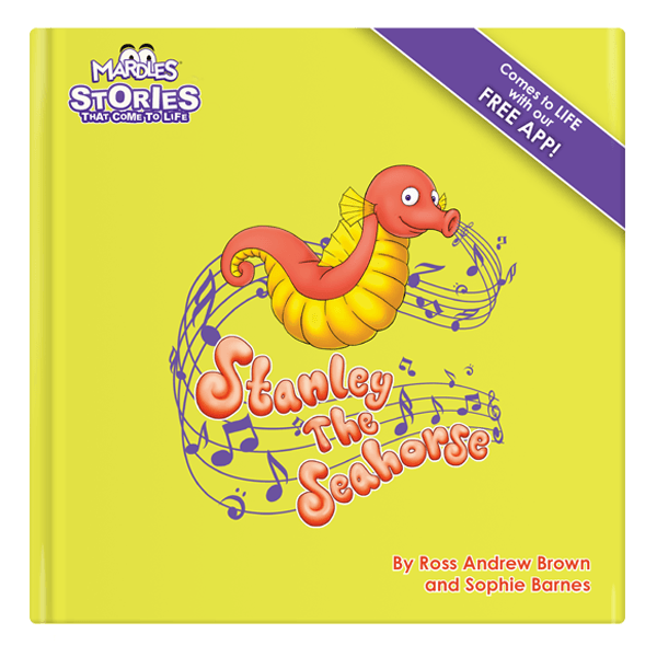 Stanley the Seahorse augmented reality story book