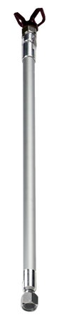 "Extension Pole W/Swival Head 7/8"" Nut"