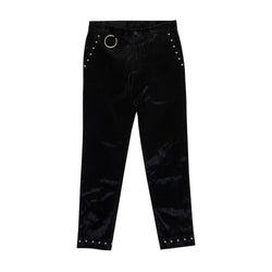 BOY LONDON BOY STUD TROUSERS BLACK - SIZE M