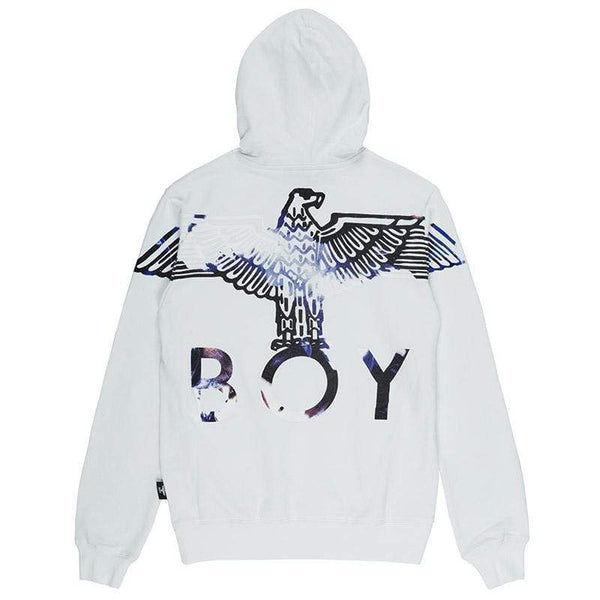 BOY LONDON HOODIES BOY EAGLE FLOCK HOOD