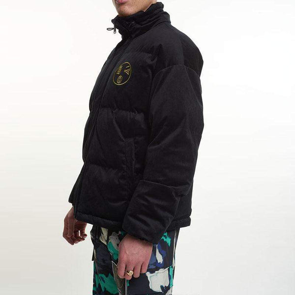 BOY London JACKET Boy Velvet Puffer Jacket