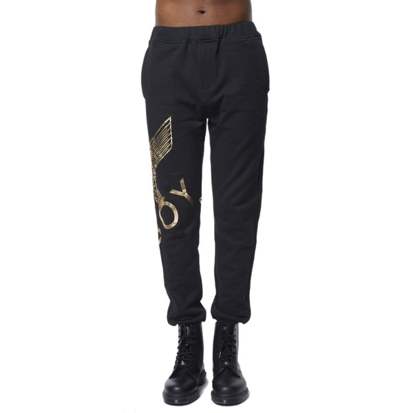 BOY LONDON JOGGERS BOY EAGLE JOGGERS - BLACK/GOLD