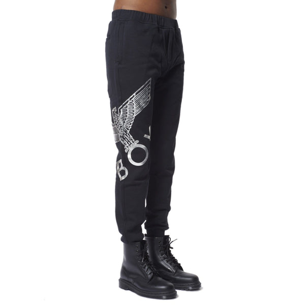 BOY LONDON JOGGERS BOY EAGLE JOGGERS - BLACK/SILVER