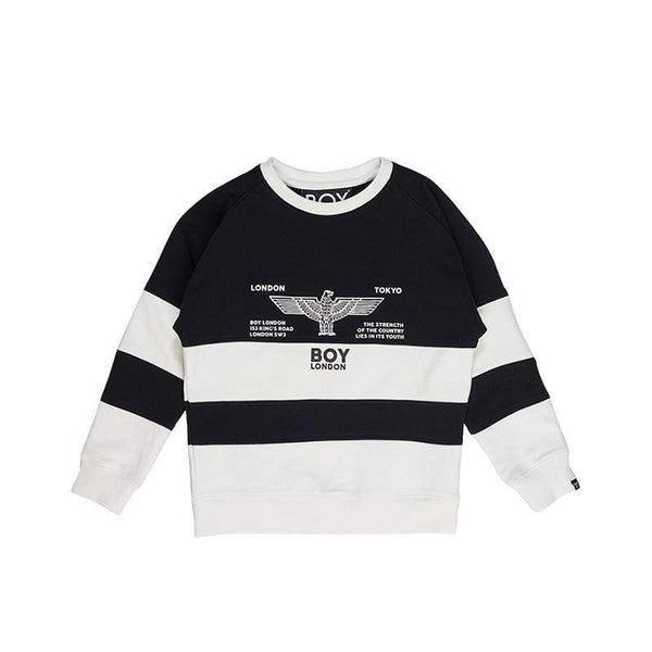 BOY LONDON KIDSWEAR BOY RUGBY KIDS SWEATSHIRT