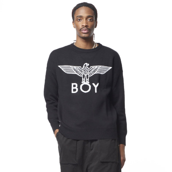 BOY LONDON KNITWEAR BOY EAGLE KNITTED JUMPER