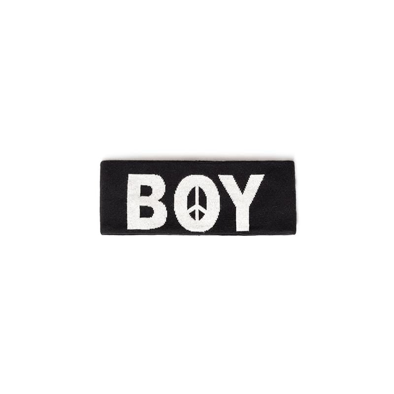 boy-london-shop Accessories one size / BLACK BBSG PEACE HEAD BAND BLACK