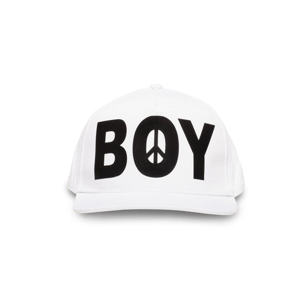 boy-london-shop CAP one size / WHITE BBSG PEACE CAP WHITE