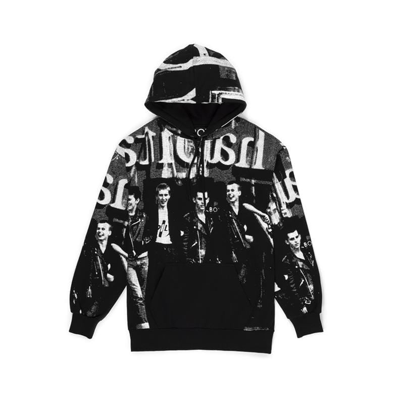 boy-london-shop HOODIES BBSG 1976 HOOD BLACK