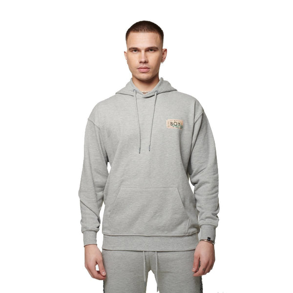 boy-london-shop HOODIES BOY HAZE HOOD GREY