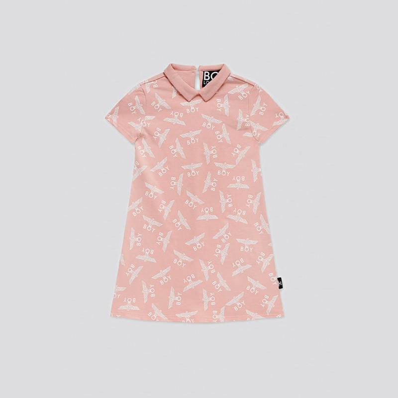 boy-london-shop KIDSWEAR 3-4 YEARS / PINK BOY KIDS SKATE DRESS