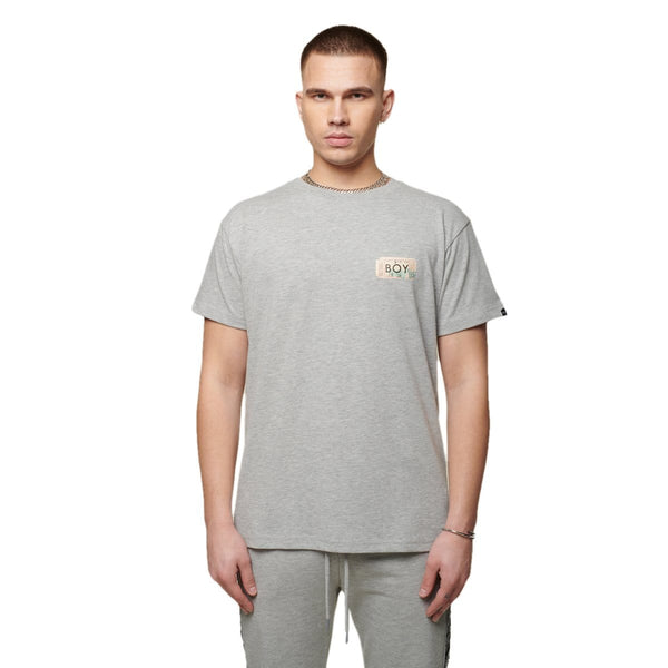 boy-london-shop T-SHIRTS BOY HAZE SS TEE GREY