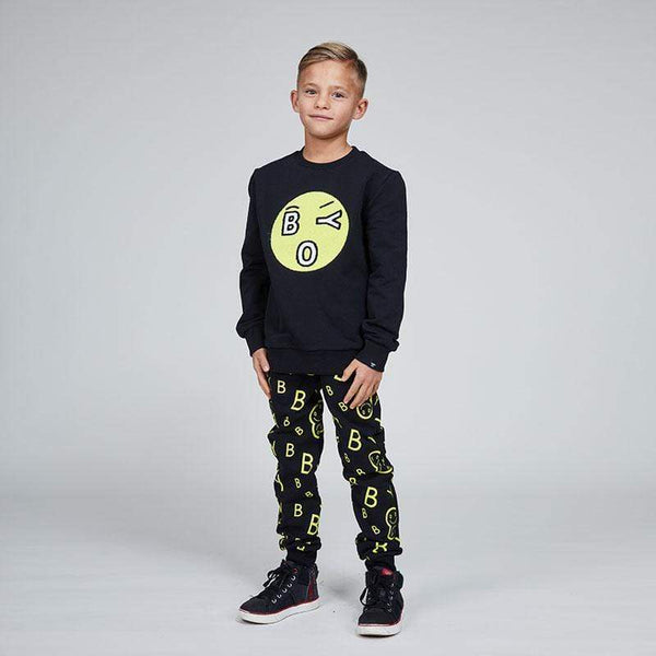 BOY London Sweatshirt BOY KIDS TOWELLING EMOJI SWEAT