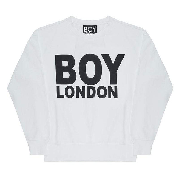 BOY LONDON SWEATSHIRT BOY LONDON SWEATSHIRT - WHITE