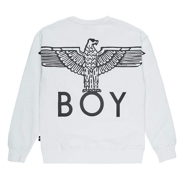 BOY LONDON SWEATSHIRT EAGLE BACK PRINT SWEAT