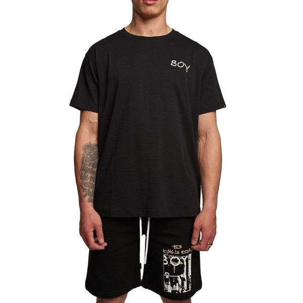 BOY LONDON T-SHIRT BOY EPOCH TEE  BLACK
