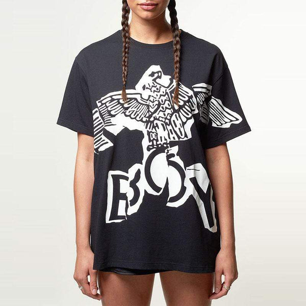 BOY London T-SHIRTS Boy Eagle Linear Tee - Black
