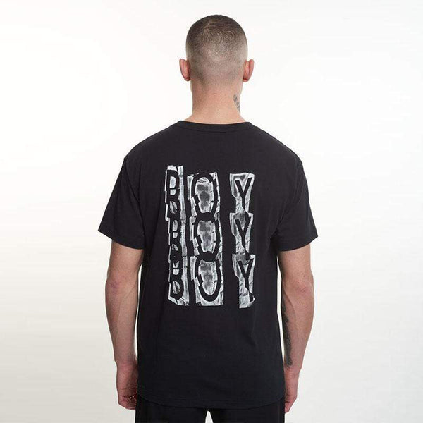 BOY London T-SHIRTS Boy Trippie Tee - Black/White