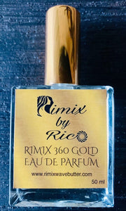Rimix By Rico 360 Gold Eau De Parfum***Inspired And Made For The Elite 360 Waver***