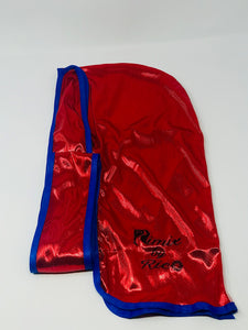 Rimix 8K Ultra Tuxedo Durag**Limited Edition - Red/Blue Trim