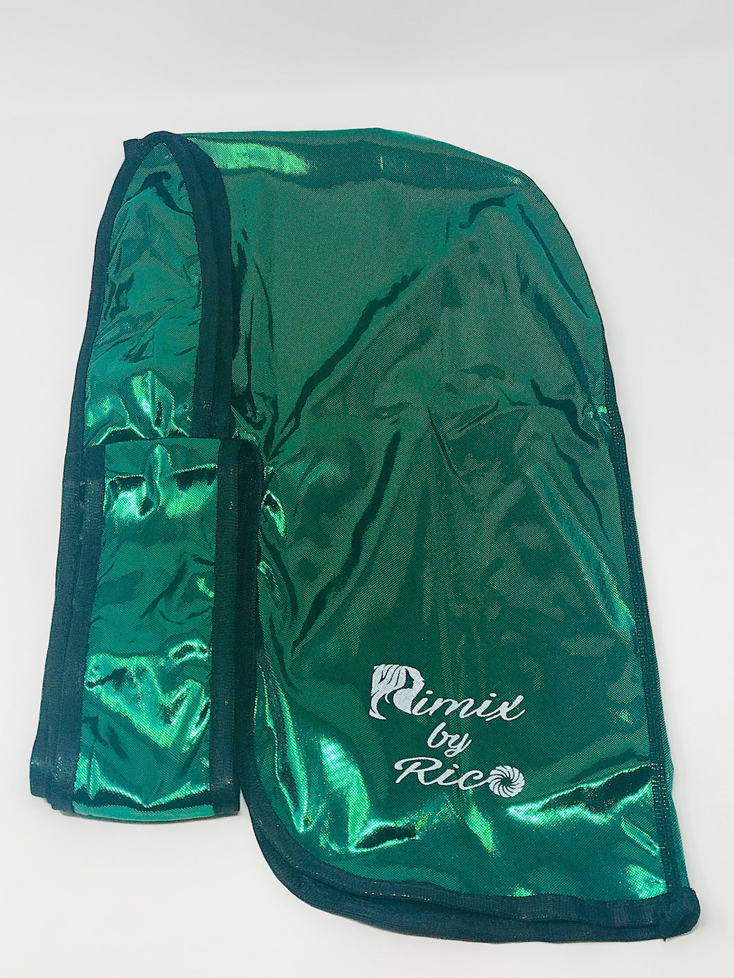 Rimix 8K Ultra Tuxedo Durag**Limited Edition - Green/Black Trim
