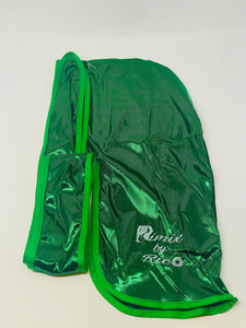 Rimix 8K Ultra Tuxedo Durag**Limited Edition - Green/Green Trim
