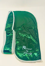 Load image into Gallery viewer, Rimix 8K Ultra Tuxedo Durag**Limited Edition - Green/White Trim