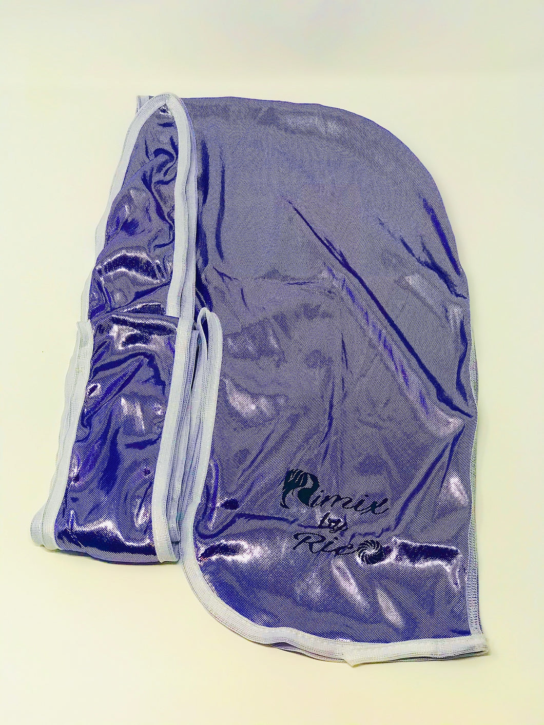 Rimix 8K Ultra Tuxedo Durag**Limited Edition - Purple/White Trim