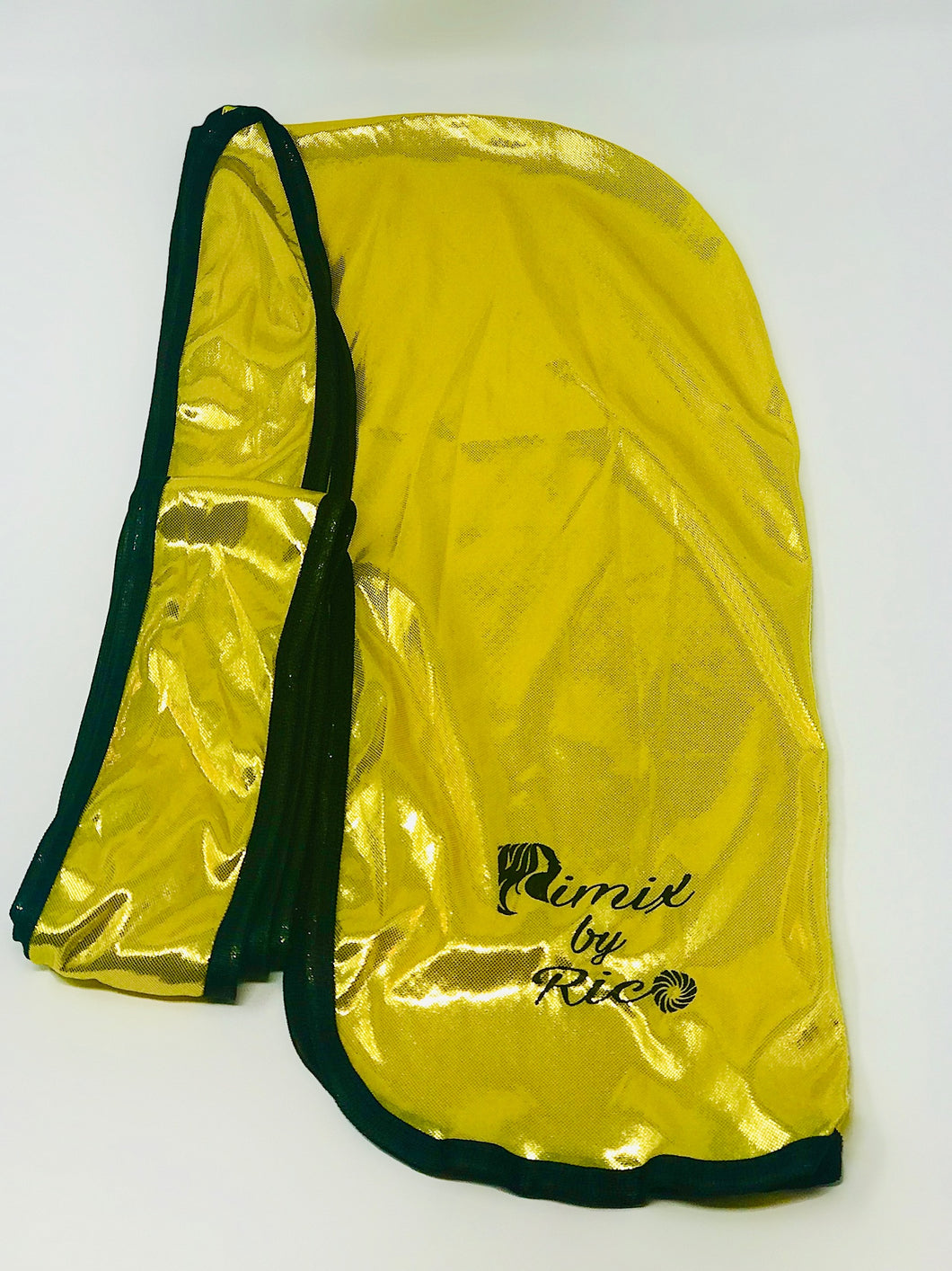 Rimix 8K Ultra Tuxedo Durag**Limited Edition - Yellow/Black Trim