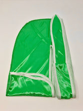 Load image into Gallery viewer, Rimix *PATENT PENDING* Silky Durag **Limited Edition - Green/White Trim
