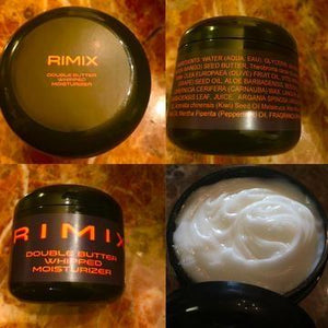 Rimix Double Butter Whipped Moisturizer - Inspired by Tom Ford Tuscan Leather w/ Rimix Rigain Hair Thickening Formula