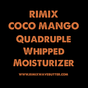 Rimix Coco Mango Quadruple Whipped Moisturizer (Oil Based) with Extra Dark Jamaican Black Castor Oil and Argan Oil**COCOA PUFFS LIMITED EDITION**