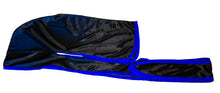 Load image into Gallery viewer, Rimix *PATENT PENDING* Silky Durag **Limited Edition - Black/Blue Trim